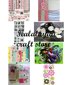 Visit my craft store for all type of scrapbooking n card making supplies