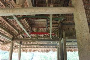 A palanquin at Đình Tân Trào
