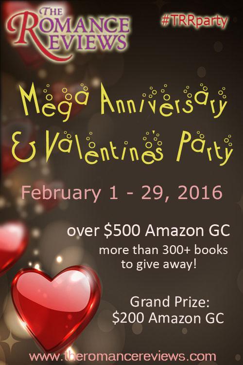 The Romance Reviews Mega Anniversary & Valentine's Party