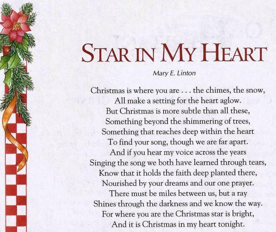 christmas poems pictures