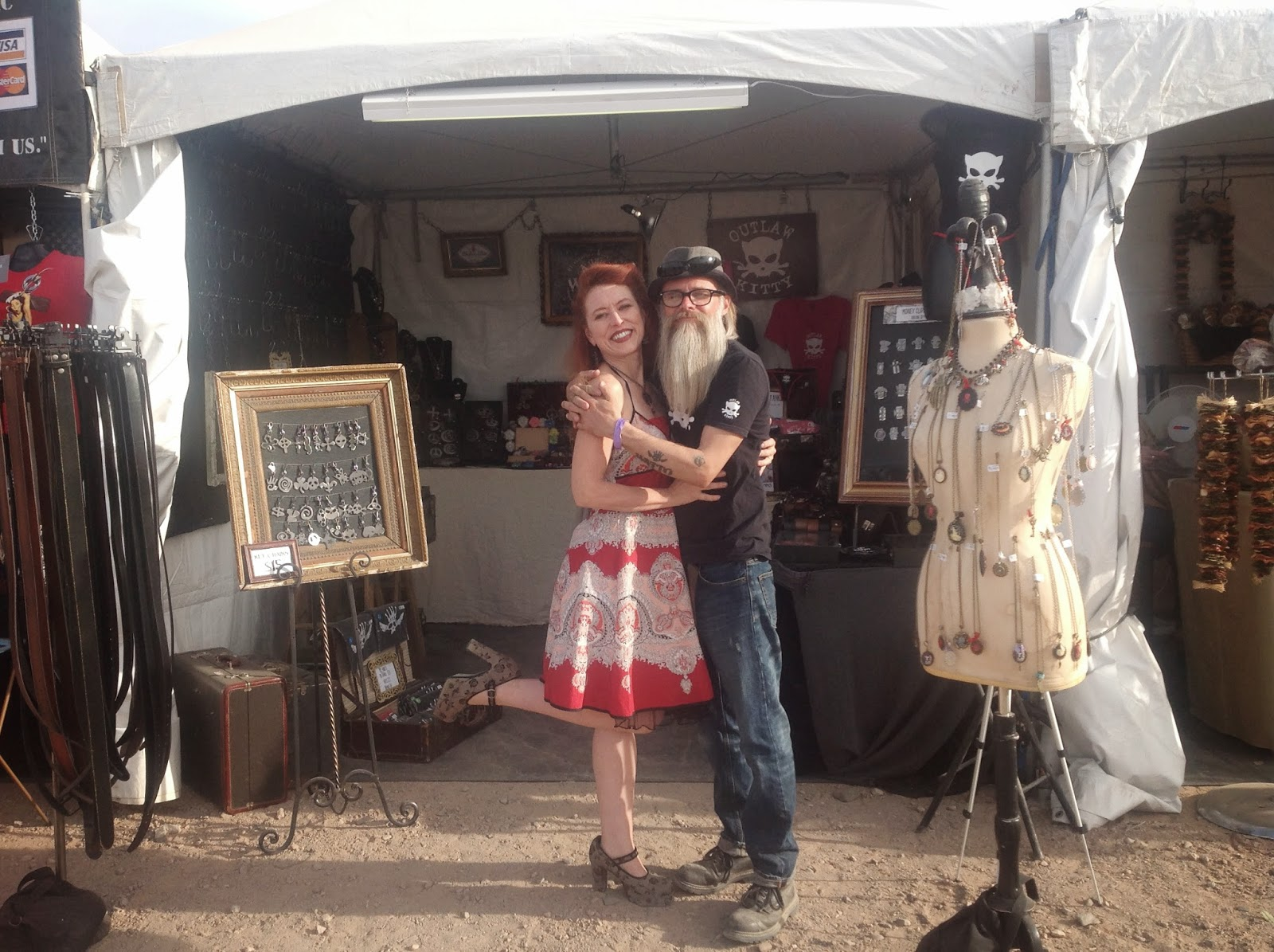 Mary & Jon of WATTO Distinctive Metal Wear