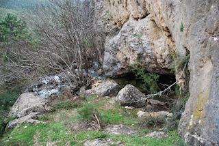 Cueva el Agua desde Cantero los Puerros