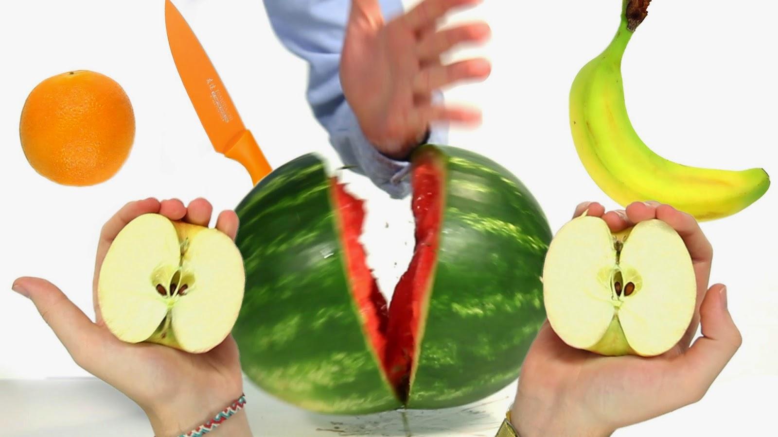 4 truques de mágica com frutas