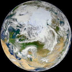 Blue Marble 2012 - Arctic View