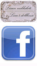 Lissun nukkekoti on nyt Facebookissa. You can follow me on the Facebook