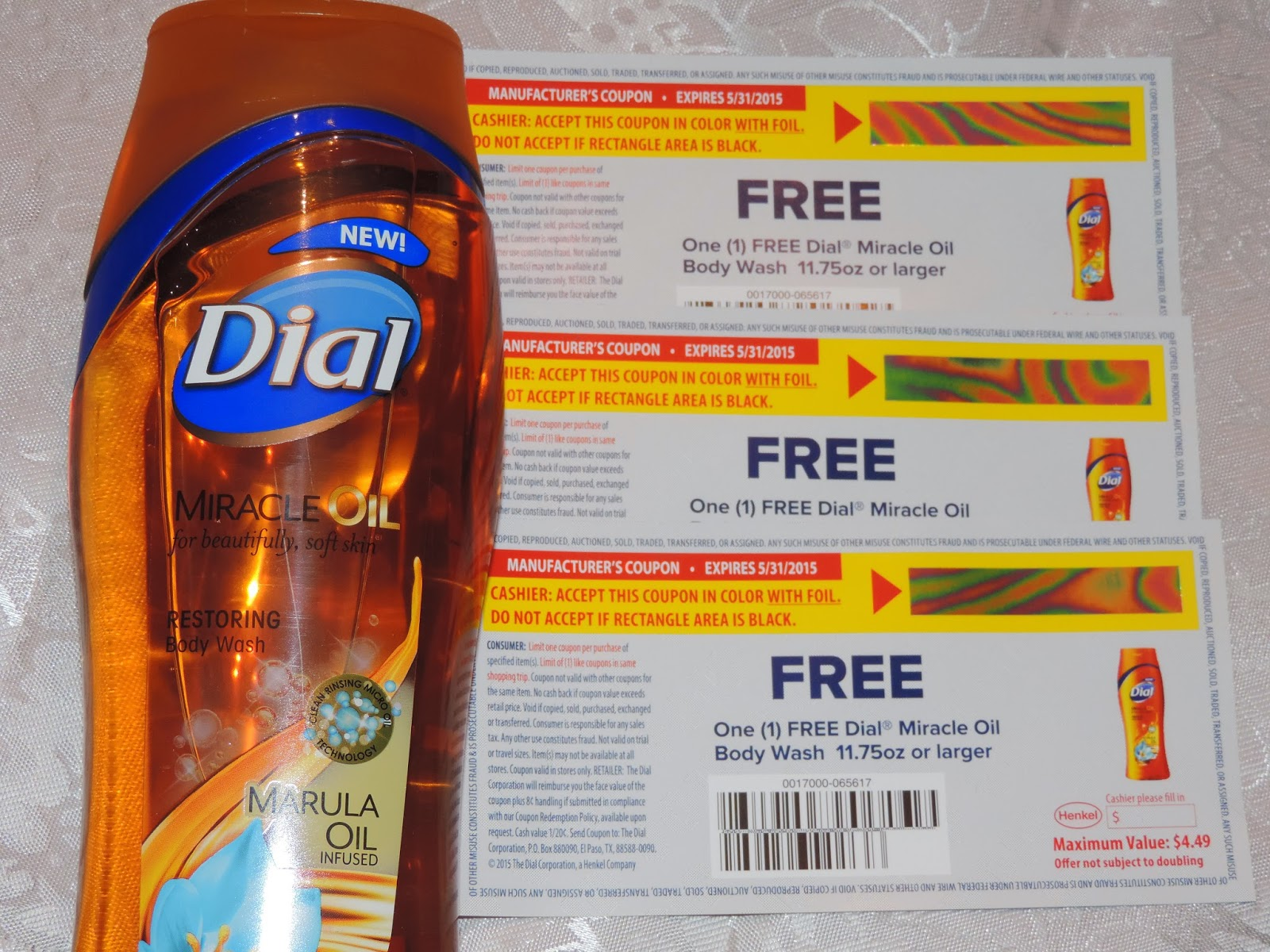 Mail4rosey Dialmiracleoil Product Giveaway From
