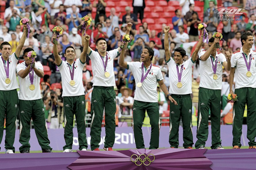 México, campeón de los Juegos Olímpicos Londres 2012