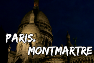 paris montmartre night