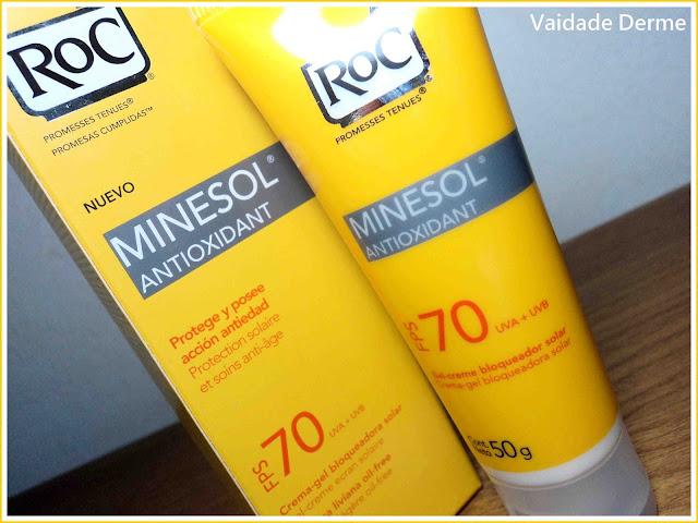 Minesol Antioxidant FPS 70 da RoC