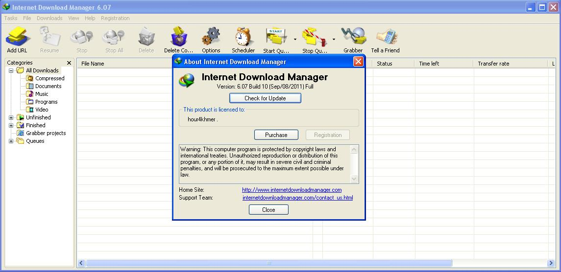 Internet download manager v6 07 build 9 final