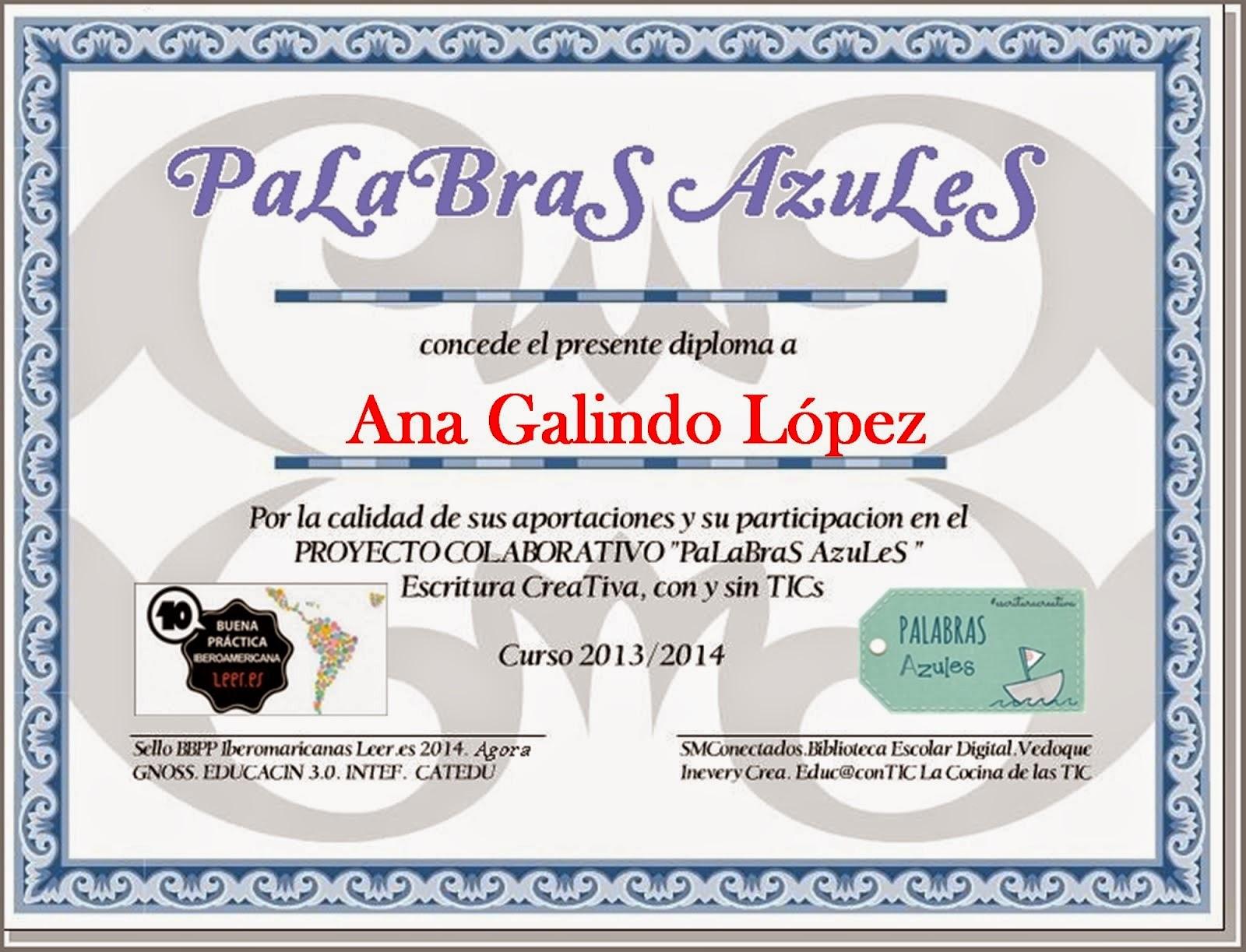 Colaboraciones en PaLaBraS AzuLeS