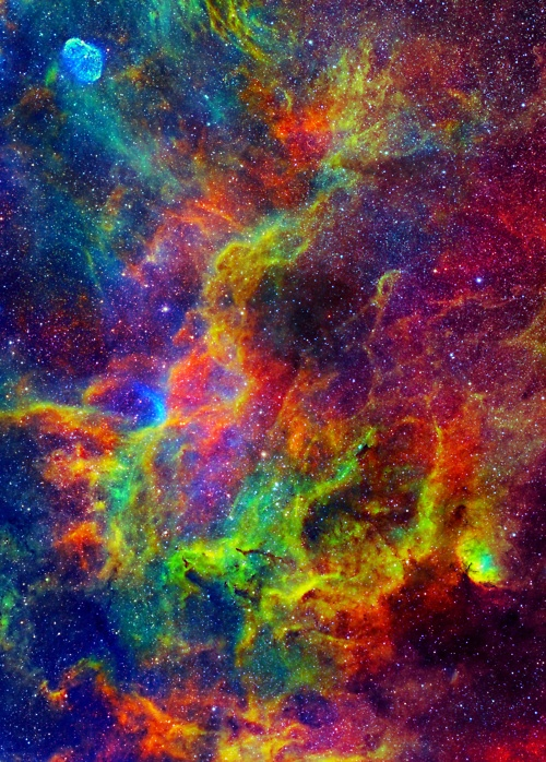 Multiverse Tales: Colourful Galaxies