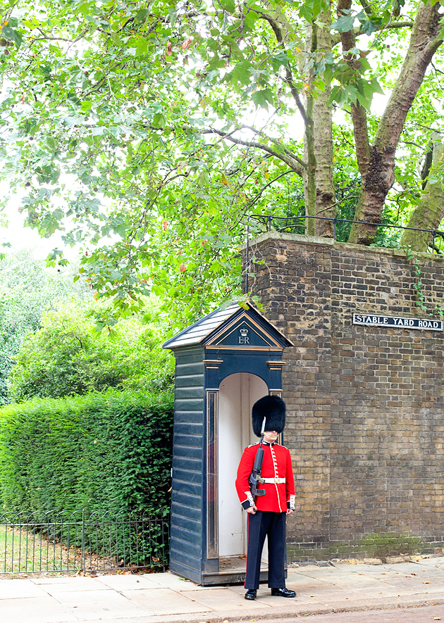 london queen's guard