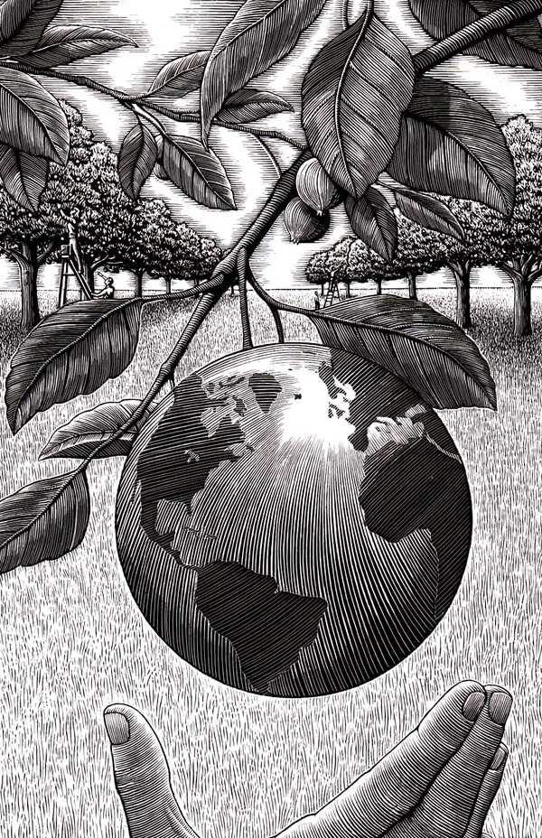 Douglas Smith Black and white