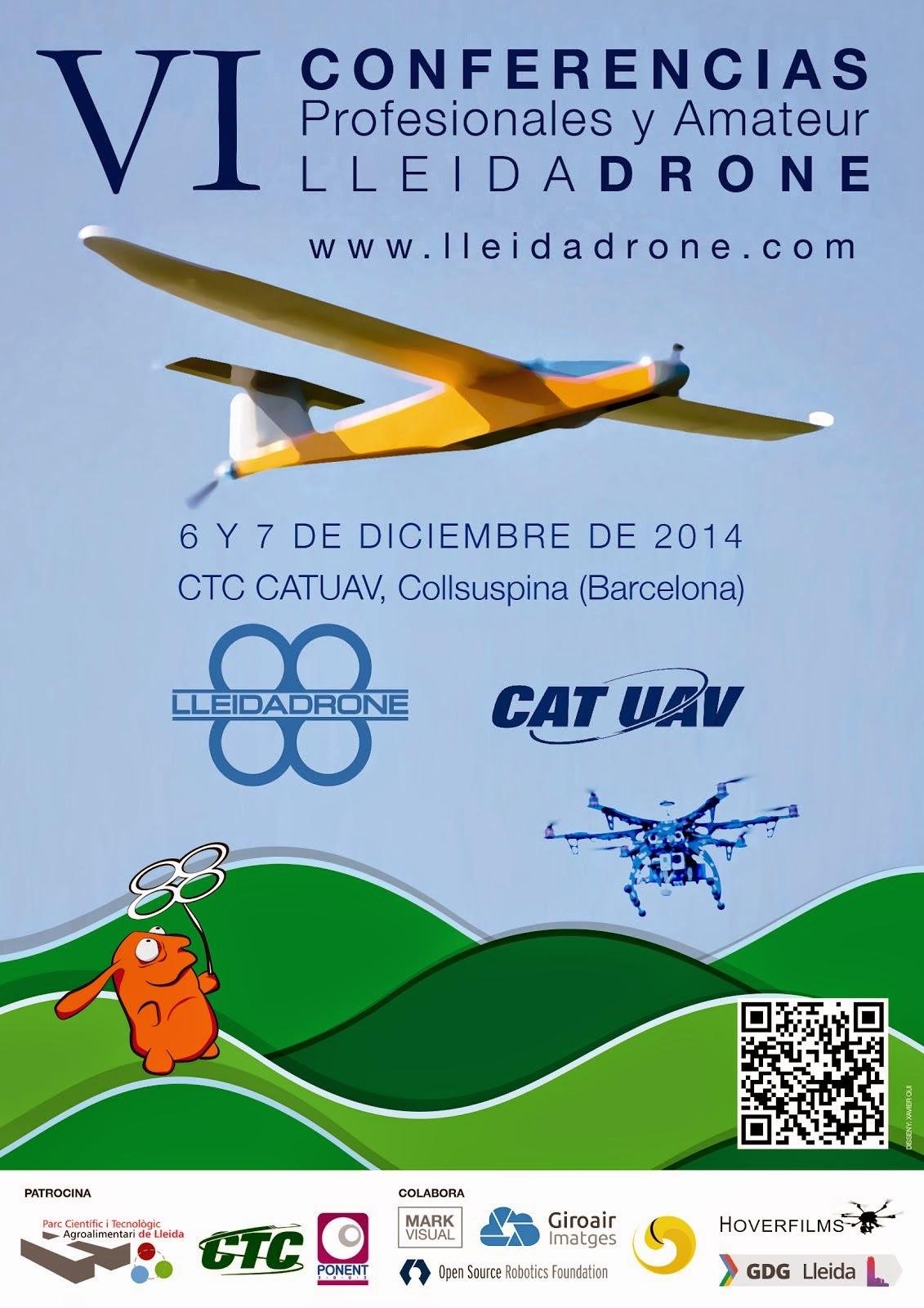 VI Conferencias de Lleida Drone