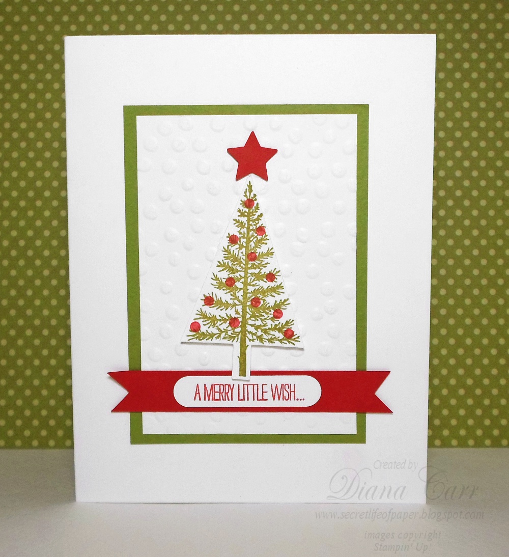 The secret life of paper a merry little wish christmas card a merry little wish christmas card kristyandbryce Gallery