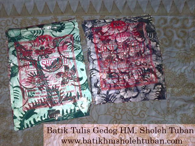 Batik tulis gedog produksi HM. Sholeh, Produk batik gedog Kerek.