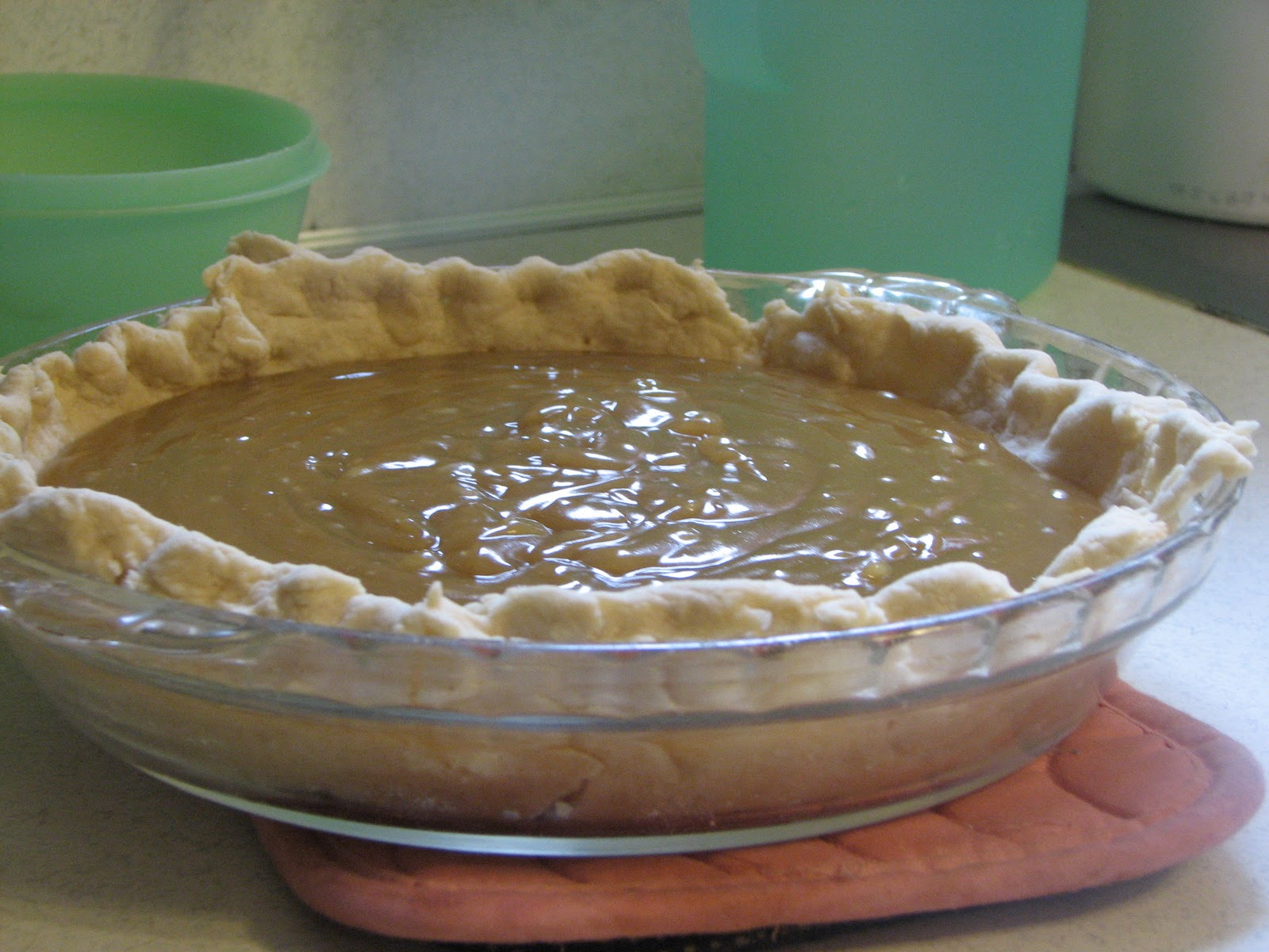 The Bz House That Love Built: Home made Butterscotch Pudding (Pie)