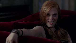 Deborah Ann Woll Vampire Teeth HD Wallpaper