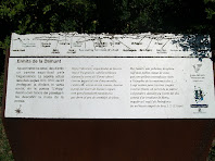 Plafó panoràmic dels voltants de la Damunt