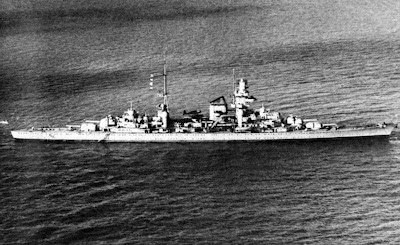 Prinz Eugen heavy cruiser  WW2 Battle of Atlantic