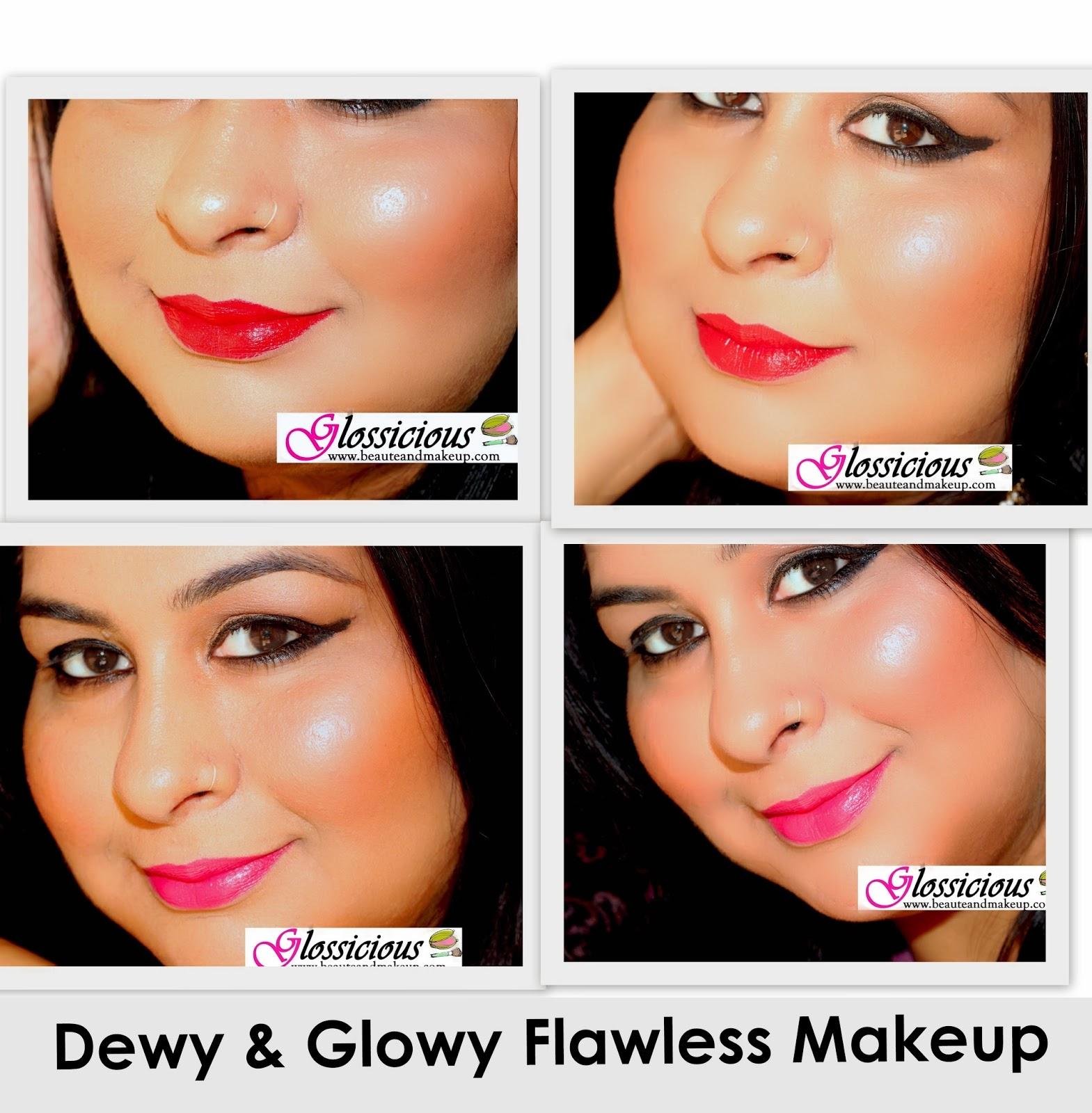 Dewy glowy flawless makeup foundationblushcontour dewy glowy flawless makeup foundationblushcontourhighlighting how to baditri Gallery