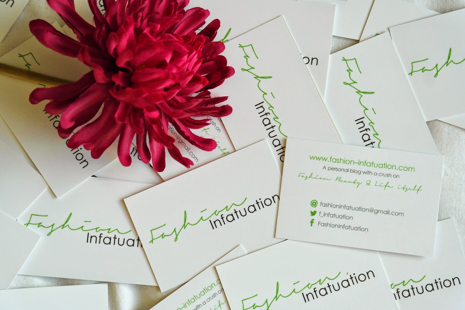 blogger business cards