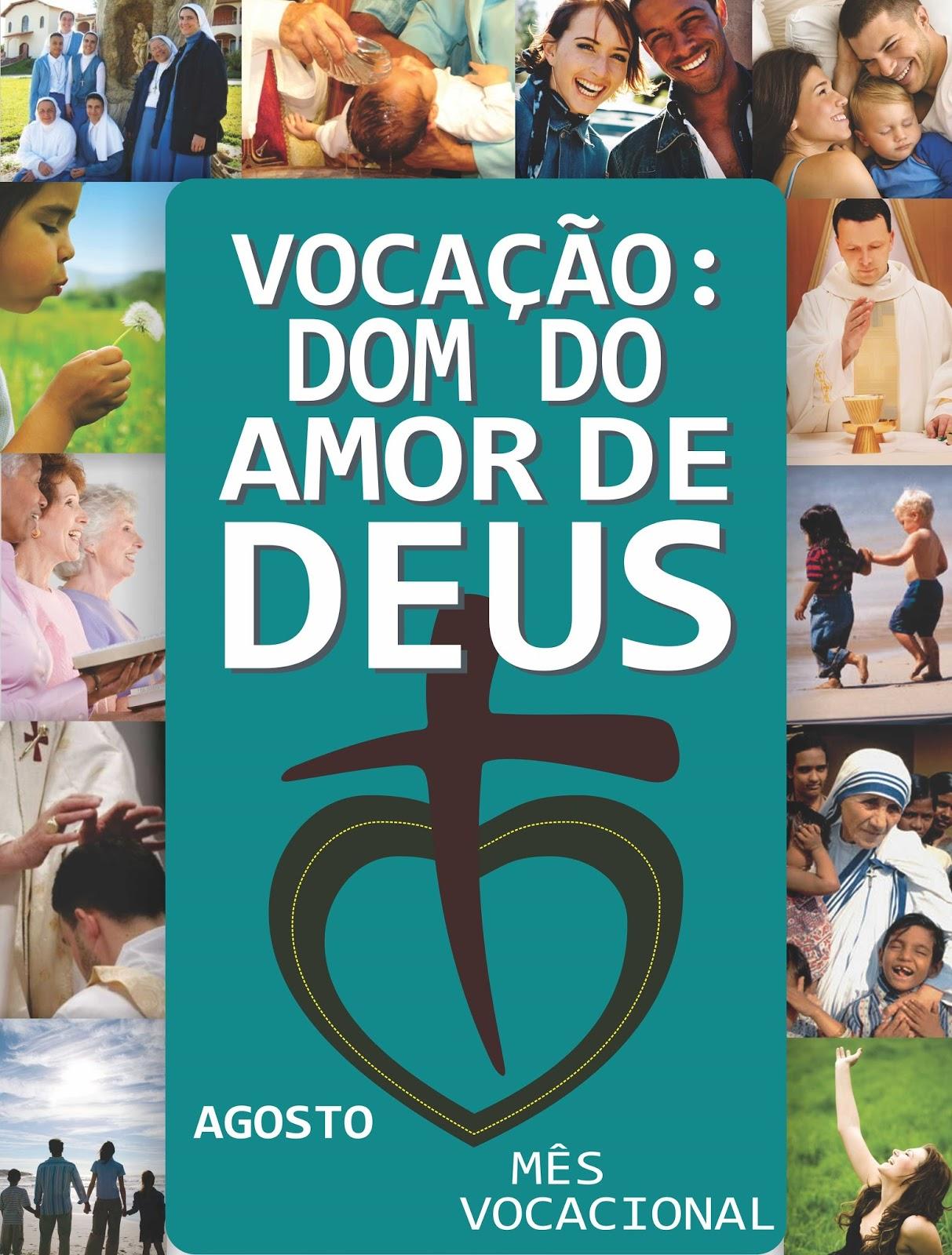 """MÊS VOCACIONAL 2016: """"MISERICORDIOSOS COMO O PAI"""" (CF. LC 6, 36)"""
