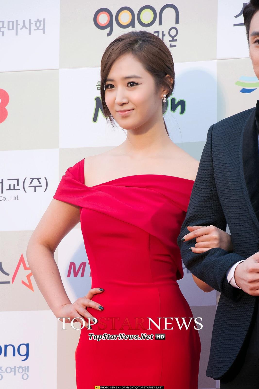SNSD Yuri 3rd Gaon Chart Awards