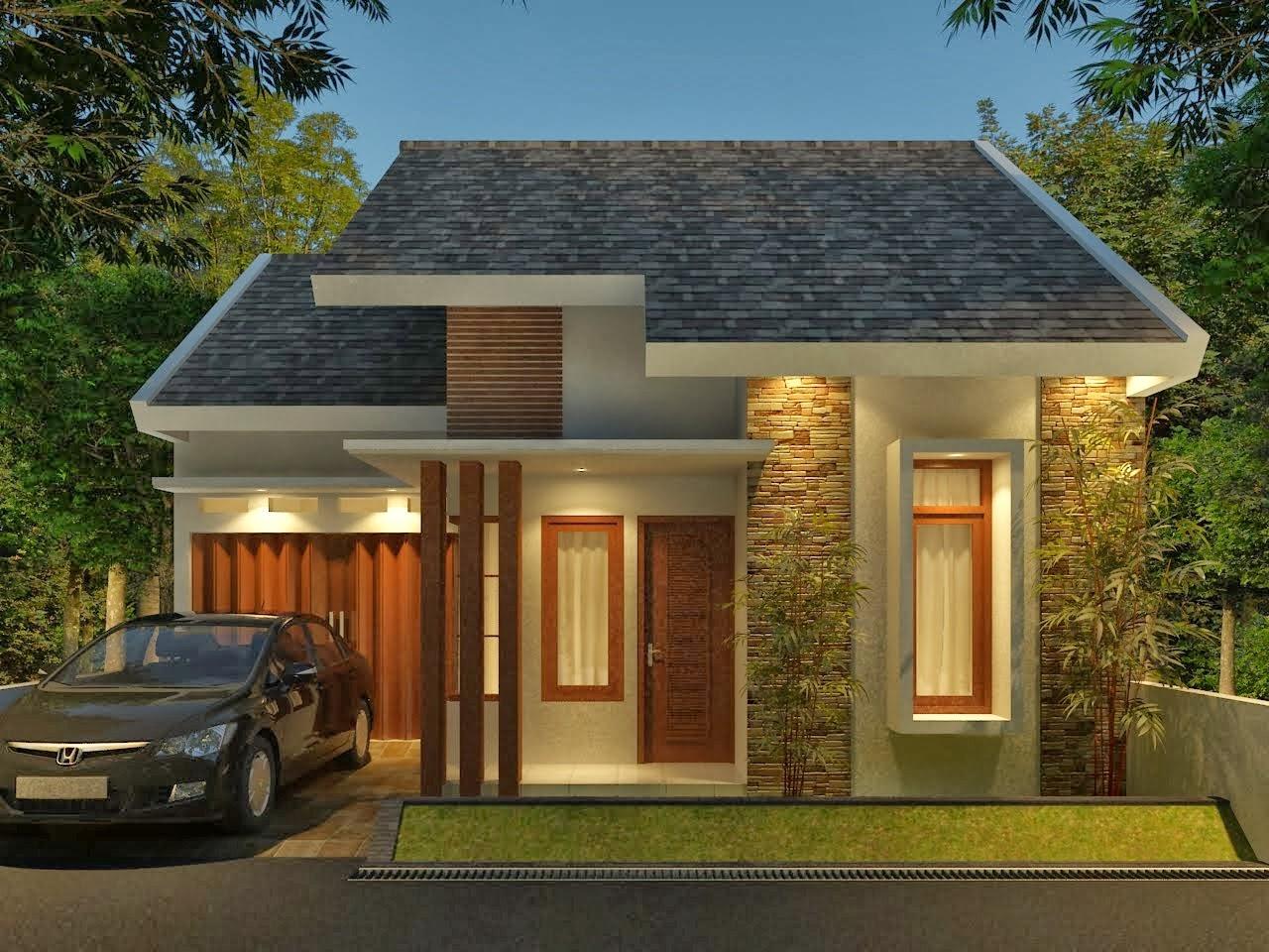 218 Model Rumah Idaman 1 Lantai 3 Kamar Tidur Gambar Rumah Idaman