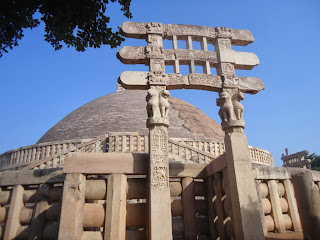 Sanchi Stupa, Unesco world heritage site, Madhya pradesh tourism