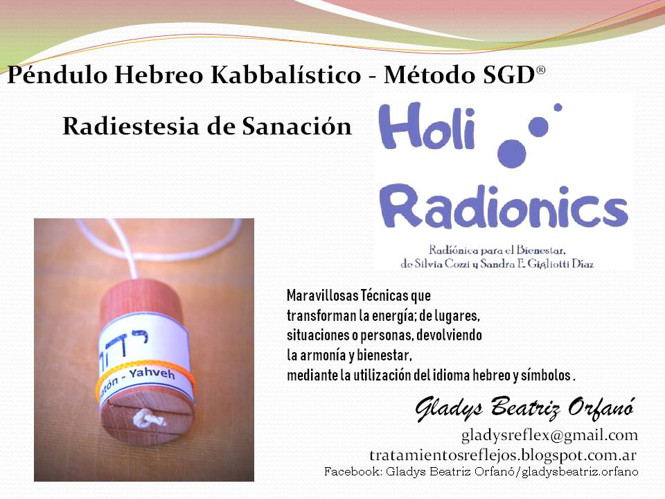 Péndulo Hebreo - Radiónica: Holi Radionic