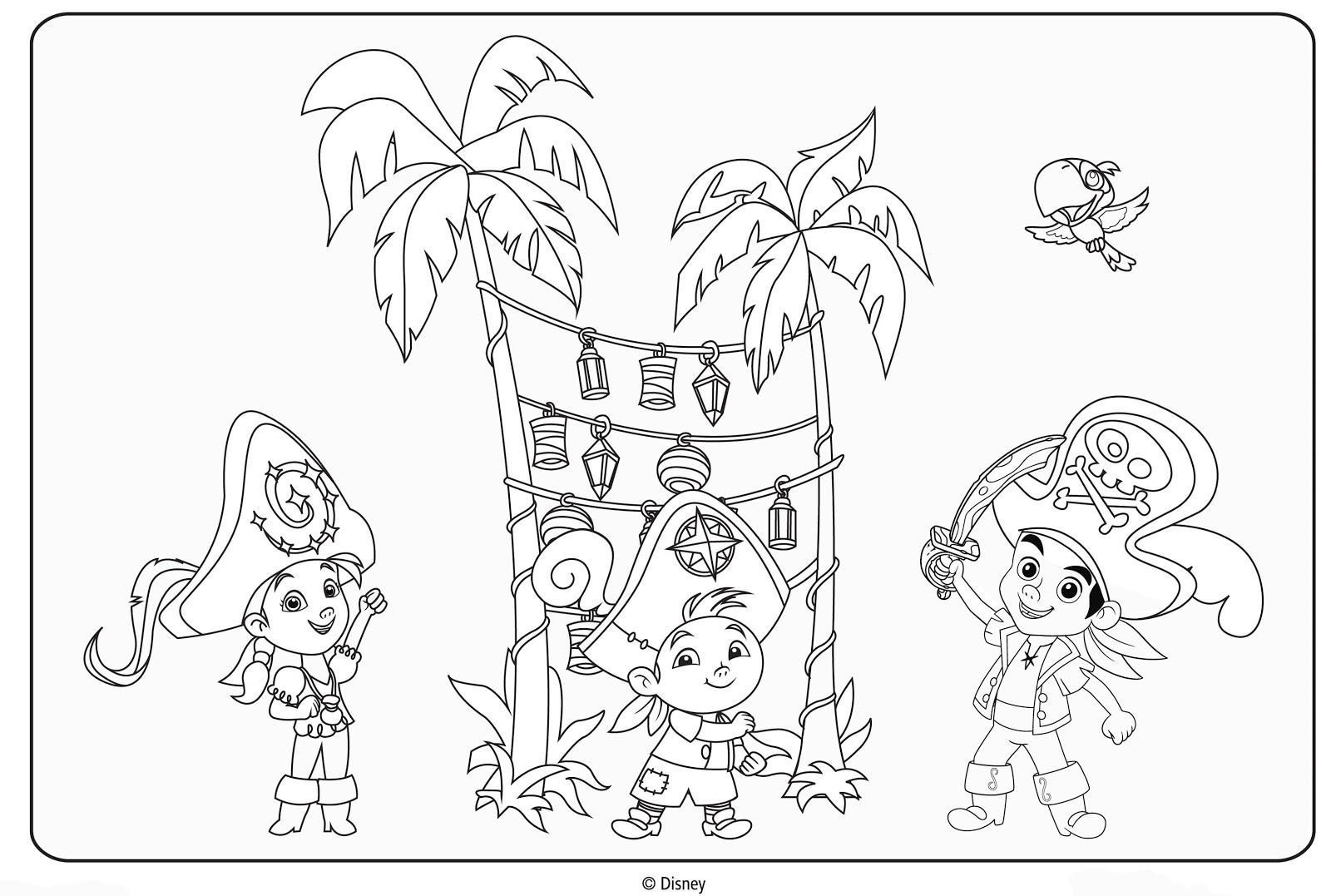 Jake y los Piratas de Nunca Jamás - Diversion en la Isla | Dibujos ...