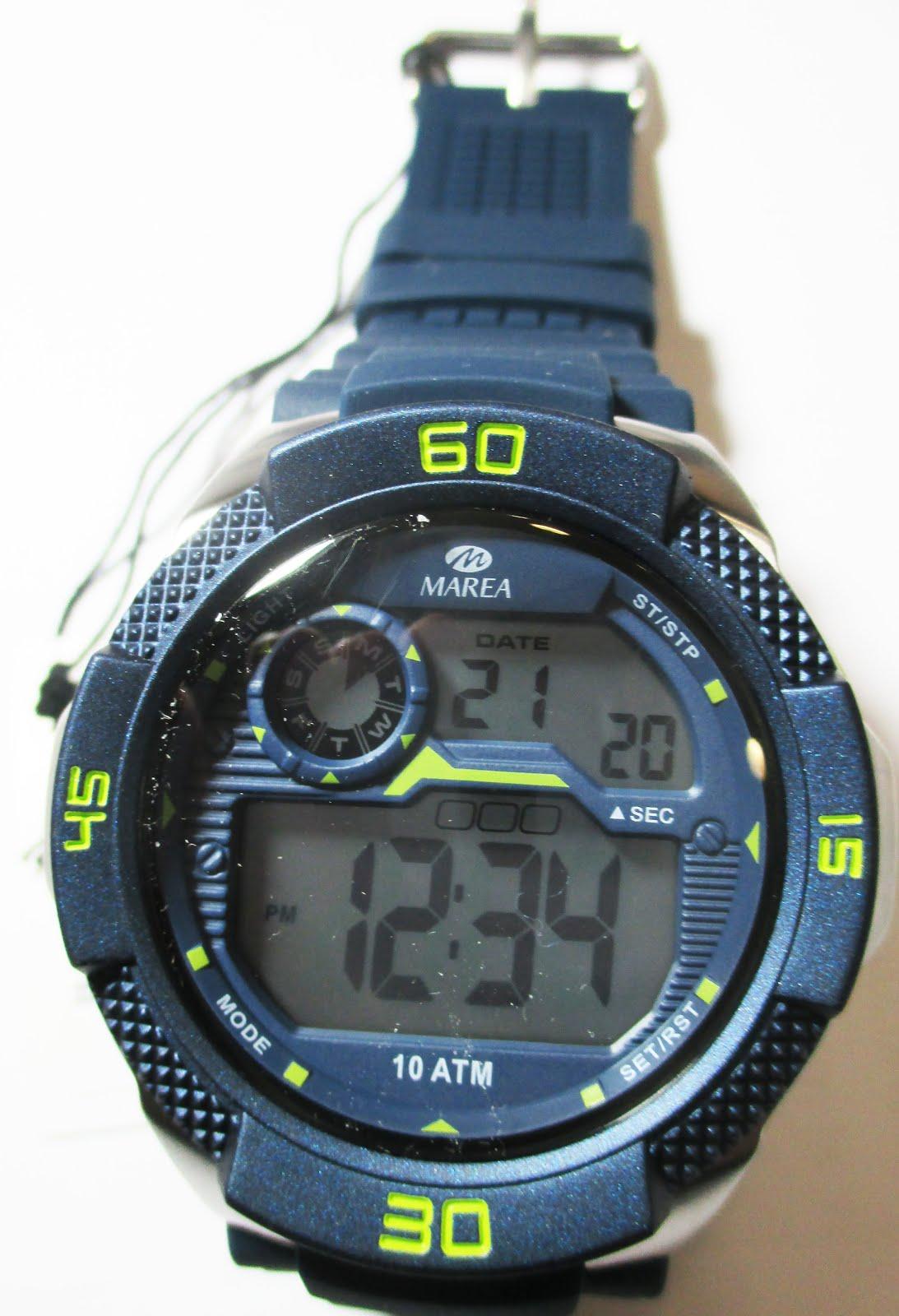 Reloj digital Marea