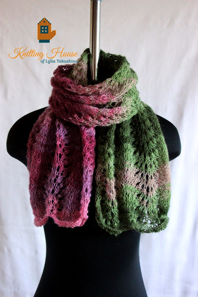 шарф, шарфик, шраф вязаный спицами, разноцветный шарф, теплый шарф, легкий шарф, шарф купить, шарф заказать