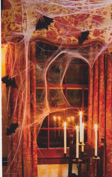 Spider webbing
