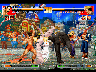 King of Fighters 97 Combo Fight