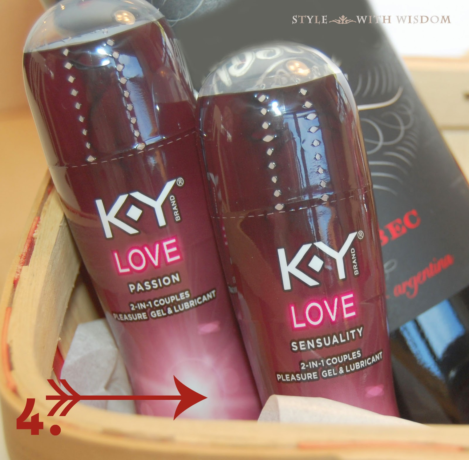 Valentine's Day Gift Basket Tutorial k-y love