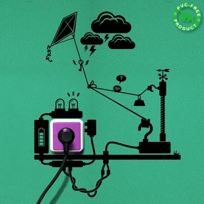 eco sticker by Hu2design