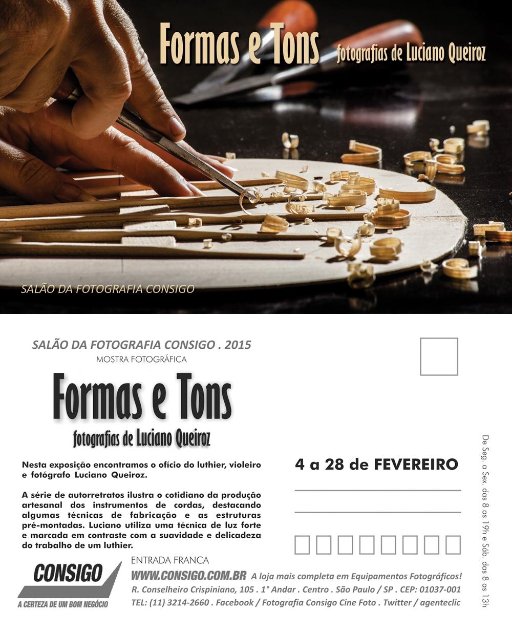 Formas e Tons de Luciano Queiroz - Salão da Fotografia Consigo