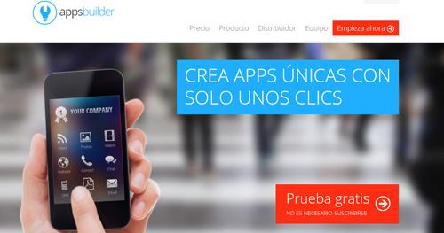 crea aplicaciones para móviles con AppsBuilder - www.dominioblogger.com
