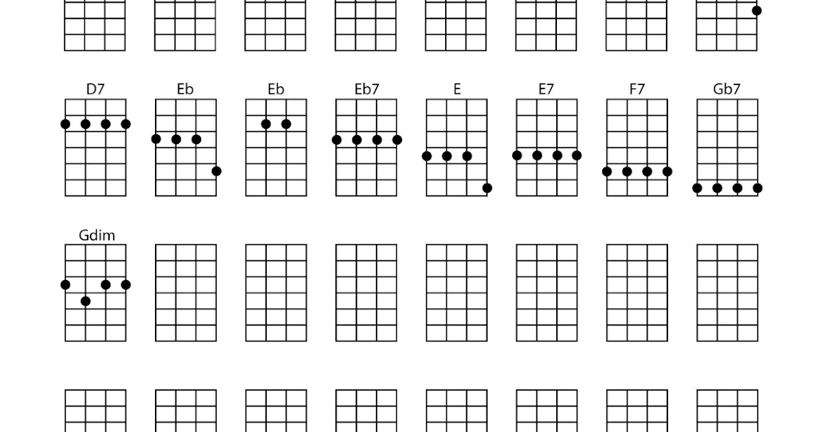 Ukulele Chords Sheet Music Sheets Chords Tablature And Song