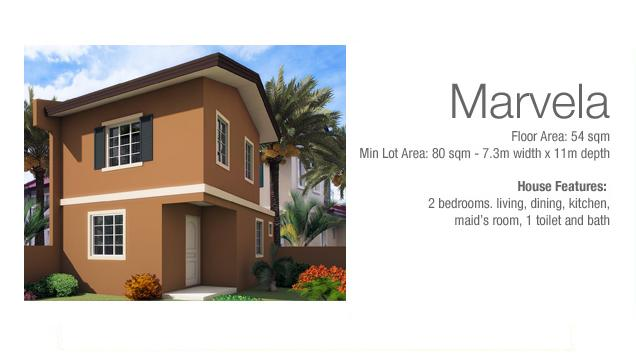 Marvela Two Storey House in Camella Montserrat Lapu lapu