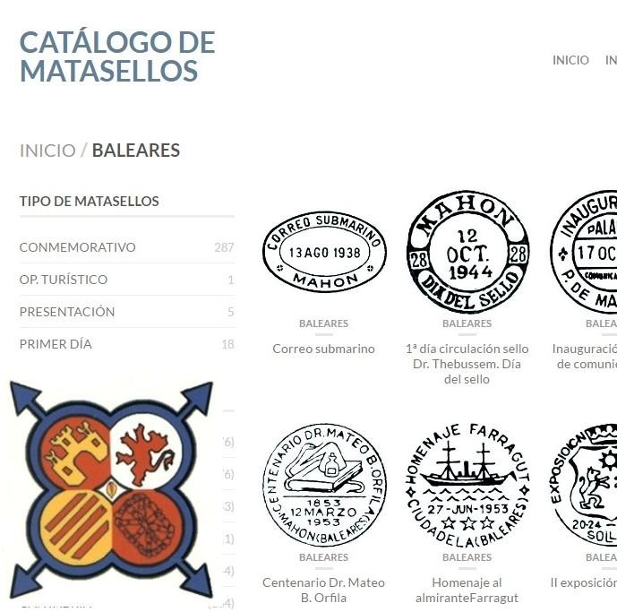 CATÁLOGO MATASELLOS BALEARES