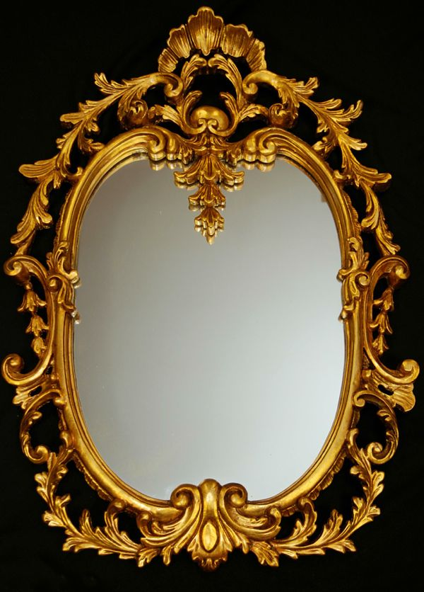 How to make a large mirror frame