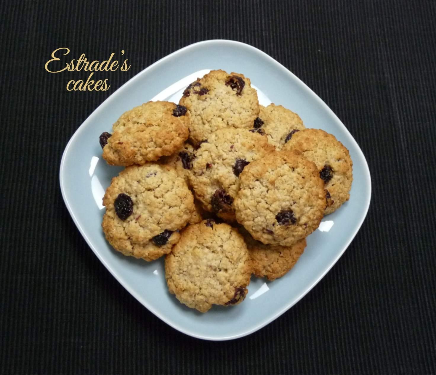 receta de galletas de avena - 1