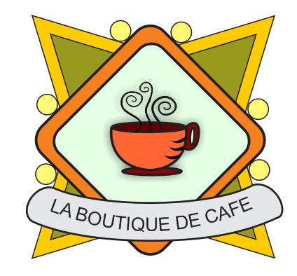 Conejo pirata la boutique de cafe logo en corel - La boutique de laurence ...