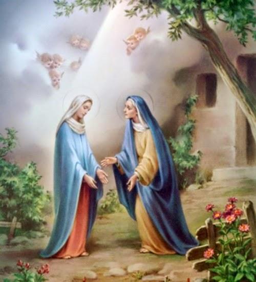 Rosaire avec saint Jean-Paul II/Mystères Joyeux Truyentin3