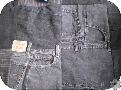 ProsperityStuff Black Jeans Quilt