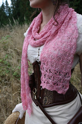 Mountain Lily Scarf